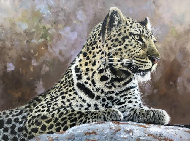 Pip McGarry, 'Leopard Portait', 2011, Ascot Studios