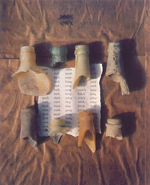 Maggie Taylor, 'Bottles and Words', 1992, Contemporary Works/Vintage Works