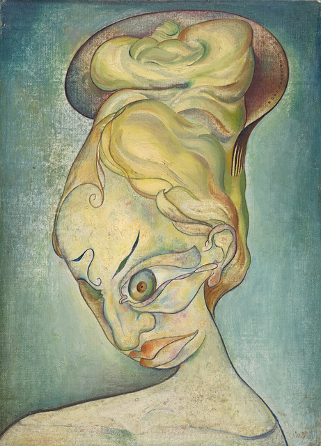 , 'Surrealist Head,' 1932, National Gallery of Victoria