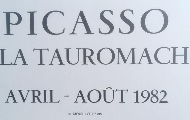 Pablo Picasso, 'Picasso et la Tauromachie', 1982, Ephemera or Merchandise, Original lithograph poster, Hans den Hollander Prints