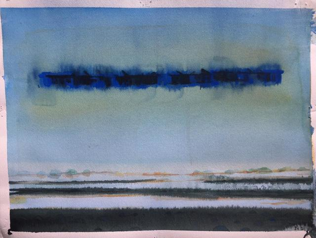 Sujith S N, 'Untitled (2)', 2020, Painting, Watercolor on Paper, Aicon Gallery