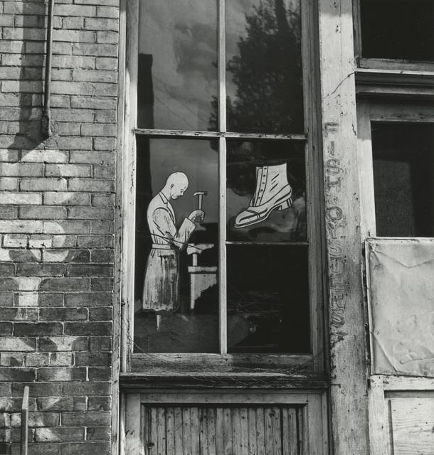 , 'Shoe Repair Shop Window, American South,' 1941, Hamiltons Gallery