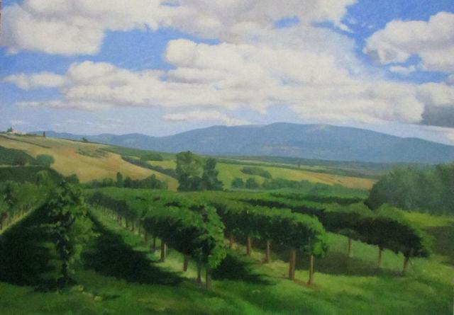 , 'Italian Landscape,' 2017, Stern Gallery
