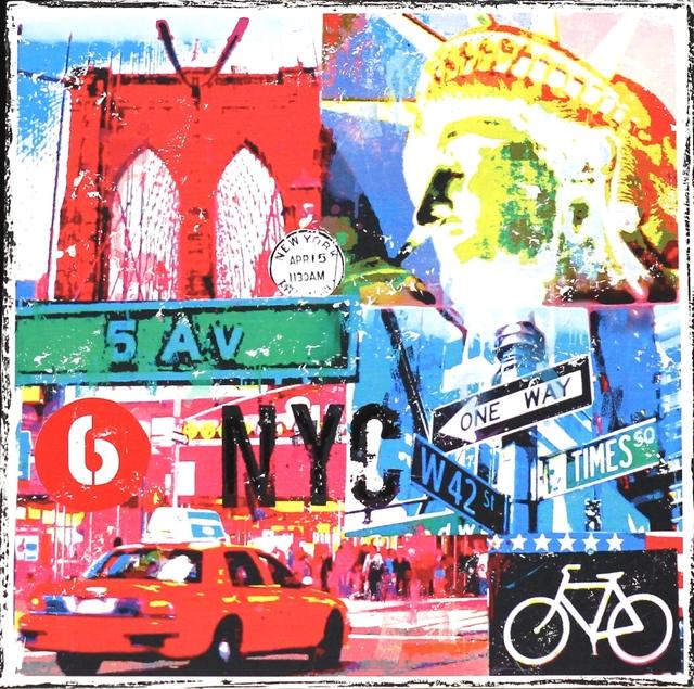 , 'NYC Bicycle,' 2015, Artspace Warehouse