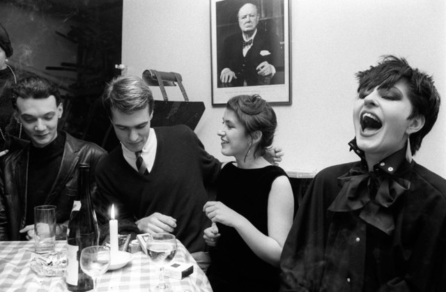 , 'Blitz Kids and Winston Churchill at the Blitz Club, Covent Garden, London,' 1980, Les Douches La Galerie