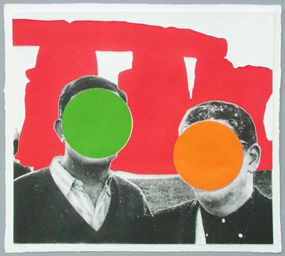 , 'Stonehenge Red,' 2005, Galerie Bhak
