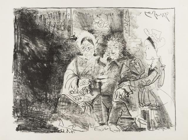 Pablo Picasso, 'Portrait de la famille Ingresque (Reuse 831; Rau 748; Baer 1369)', 1962, Forum Auctions
