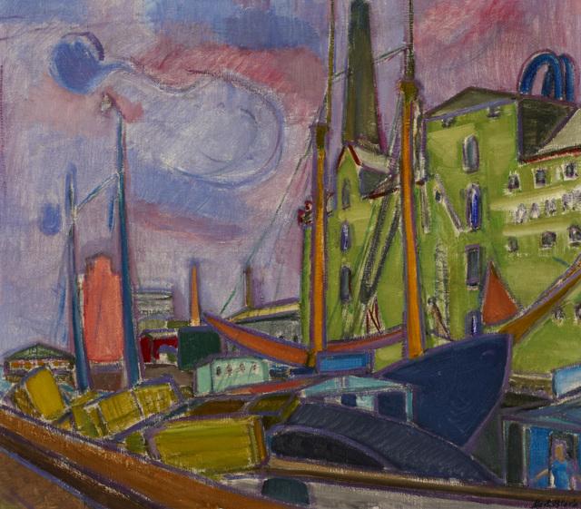 , 'Svendborg Harbour, Denmark,' 1934, Ben Uri Gallery and Museum