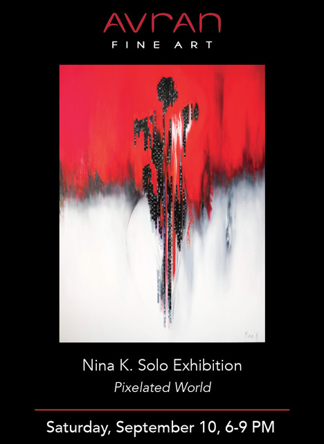 Nina K., 'Lady In Red', 2018, Painting, Oil on canvas, Avran Fine Art