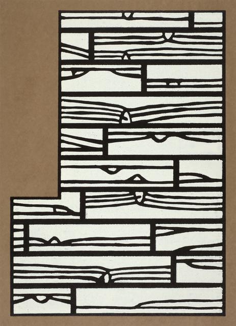 Richard Woods, 'Offcut No 4 (inside the bay window)', 2013, Cristea Roberts Gallery