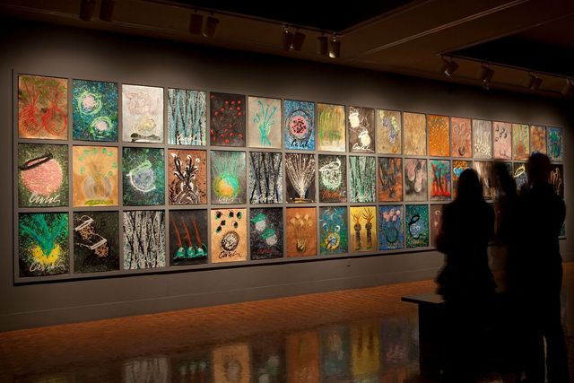 , 'Drawing Wall,' 2009, Crystal Bridges Museum of American Art