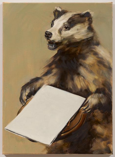 , 'Black Mould / The Badger's Song II,' 2015, David Zwirner
