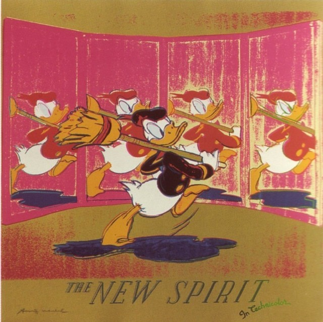 Andy Warhol, 'Ads: The New Spirit (Donald Duck), 1985', 1985, Coskun Fine Art