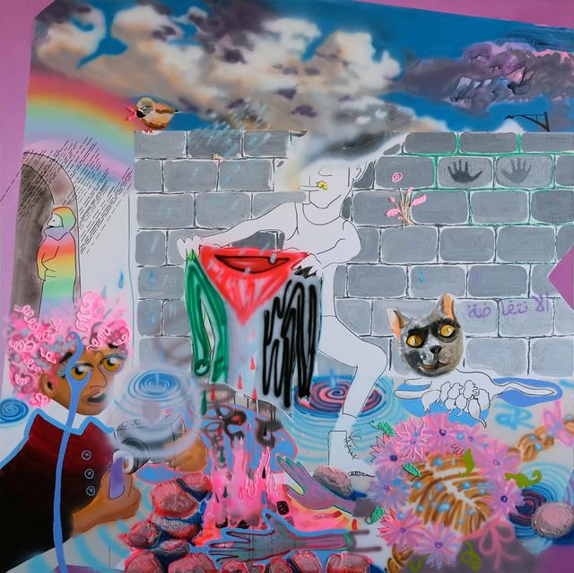 , 'House Arrest,' 2016, Allouche Gallery