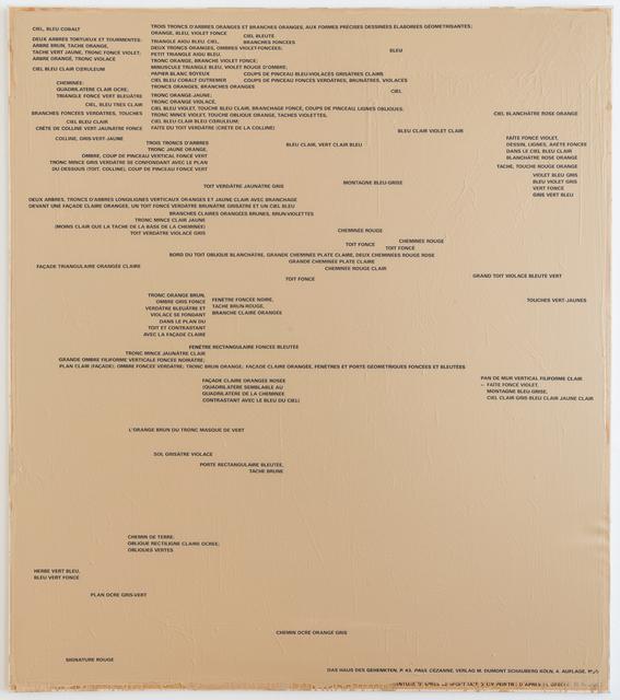 , 'Ein Blatt Papier II (SOP 205),' 1973-1985, Mai 36 Galerie