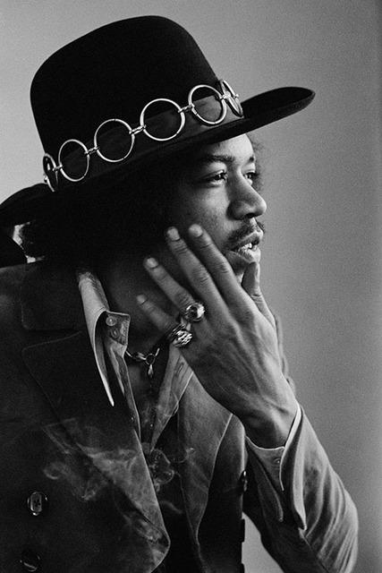 , 'Jimi Hendrix profile,' 1968, Mouche Gallery