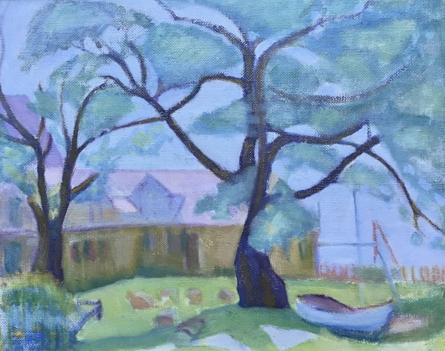 Jane Jarvis Mumford, 'Yellow House', 1915, Bakker Gallery