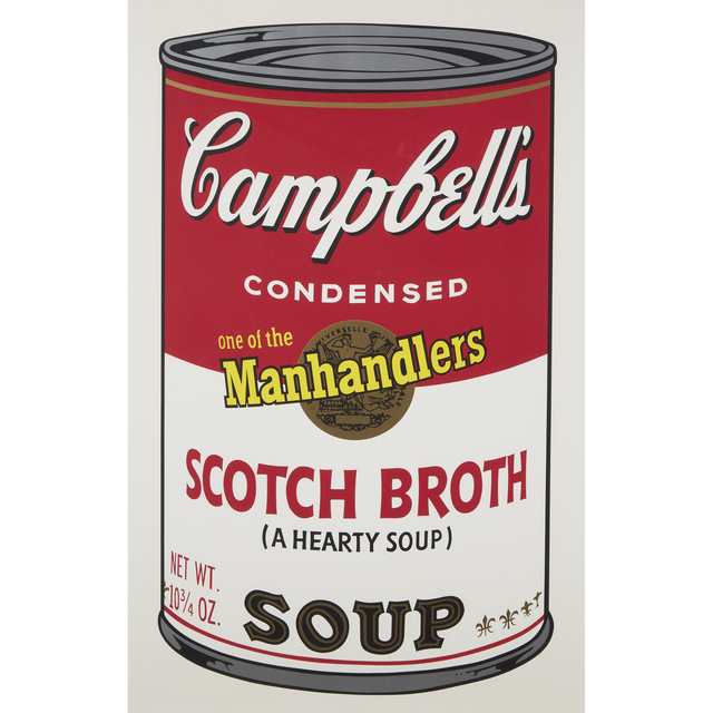 Andy Warhol, 'Scotch Broth from Campbell's Soup II', 1969, Freeman's
