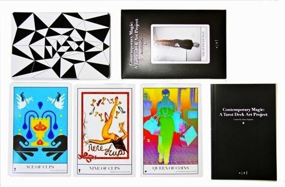 ", 'Full Collection of ""Contemporary Magic: A Tarot Deck Art Project"" Limited Edition 5th Anniversary Print Collection, Including 78 Framed Prints, 2015 