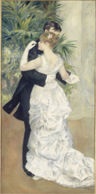 , 'Dance in the City,' 1883, The National Gallery, London