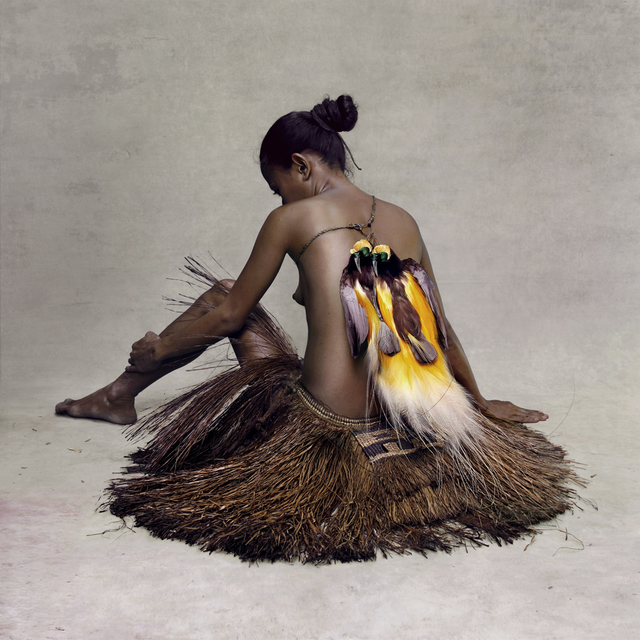 , 'Young Woman with Paradise Birds, New Guinea,' 2015, Addicted Art Gallery