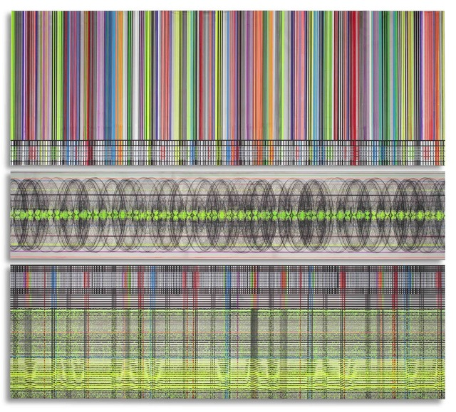 , 'Barcode (Helix. eeg),' 2010, David Richard Gallery