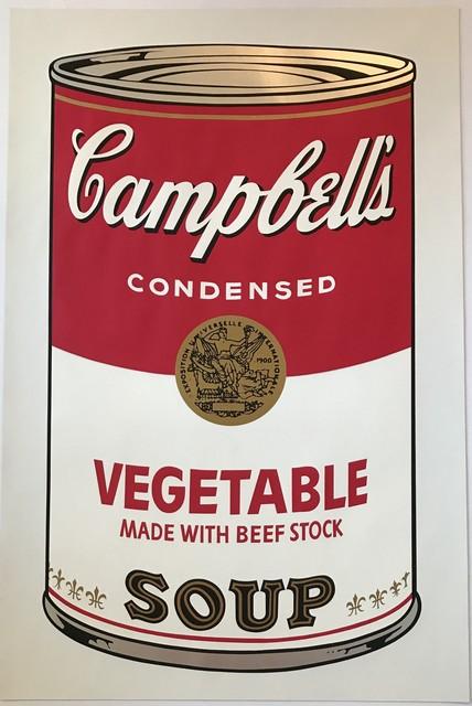 Andy Warhol, 'Campbells's Soup ', 1968, Kings Wood Art