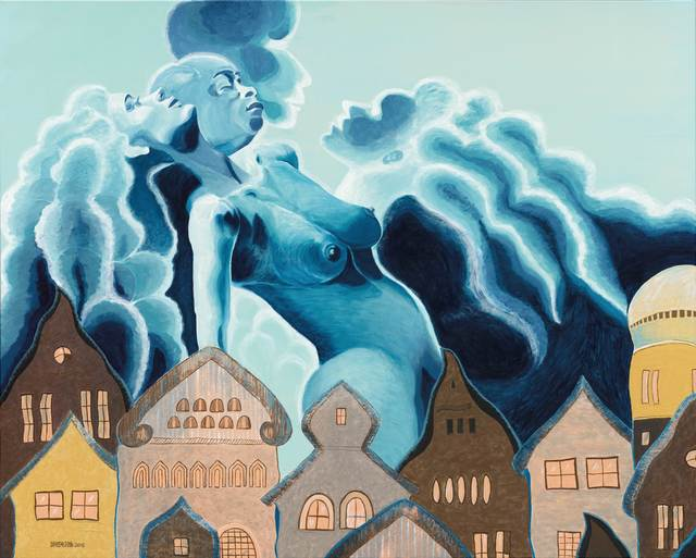 , 'Rhapsody in Blue,' 2015, 首都藝術中心 Capital Art Center