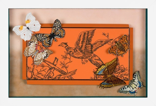 , 'Hermès Forest Pheasant,' 2018, Roman Fine Art