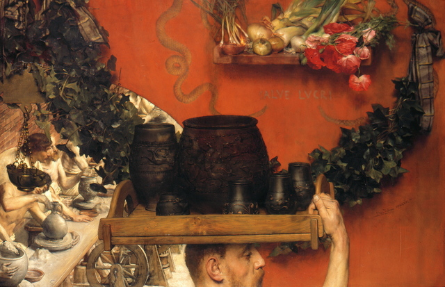 , 'The Roman Potters in Britain (Hadrian in England),' 1884, Belvedere Museum
