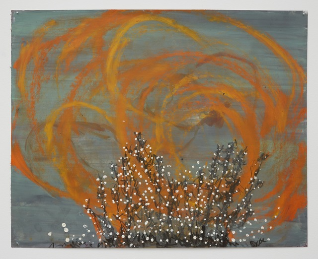 , 'burning bush,' 2016, Klowden Mann