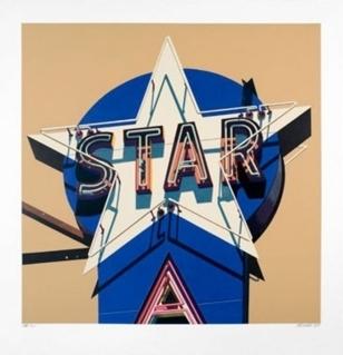 Robert Cottingham, 'Star', 2009, Taglialatella Galleries