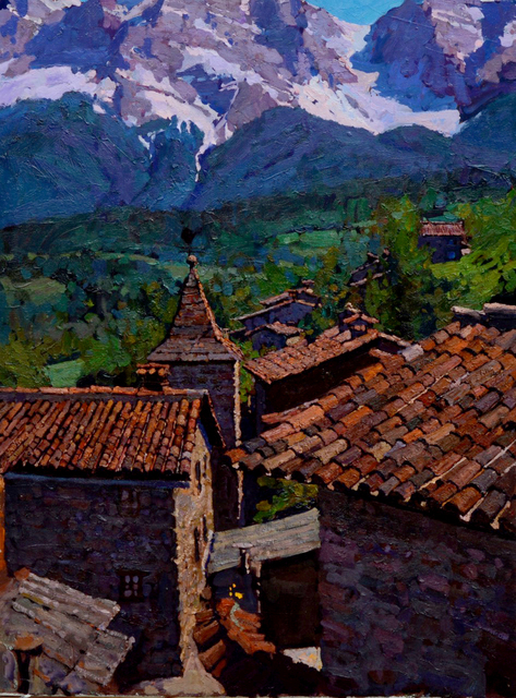 , 'High Noon, Northern Spain,' , Beverly McNeil Gallery