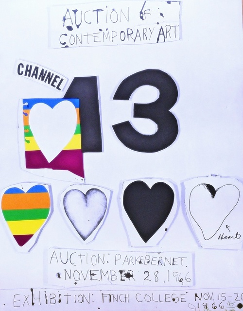 , 'I Love Public Television (for Channel 13),' 1966, Alpha 137 Gallery