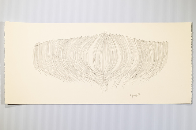Elizabeth Youngblood, 'Bud', 2021, Drawing, Collage or other Work on Paper, Ink on paper, M Contemporary Art