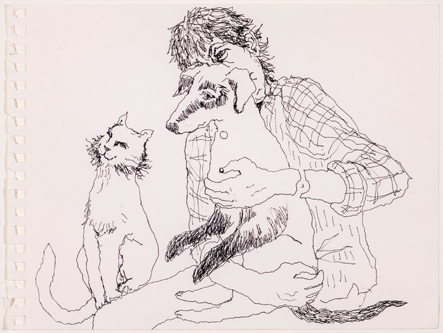 , 'Untitled (cat and dog),' 2012, Rosamund Felsen Gallery