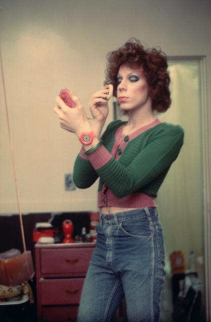Nan Goldin, 'Kenny putting on makeup', 1973, Matthew Marks Gallery