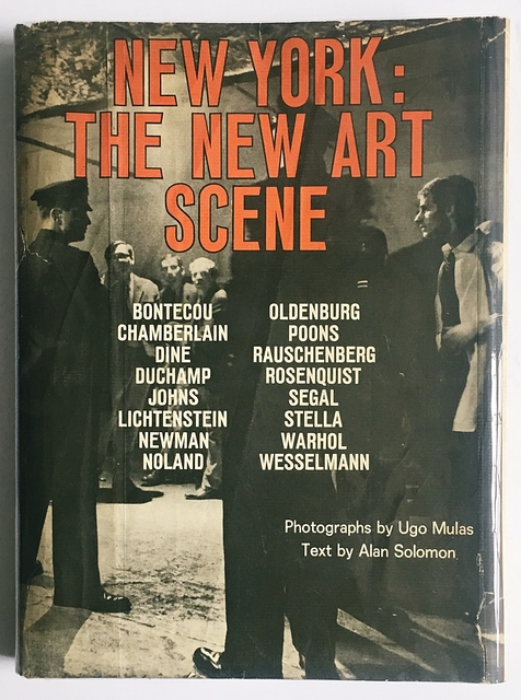 , 'New York: The New Art Scene (Hand Signed by Jim Dine, Larry Poons and Frank Stella),' 1967, Alpha 137 Gallery