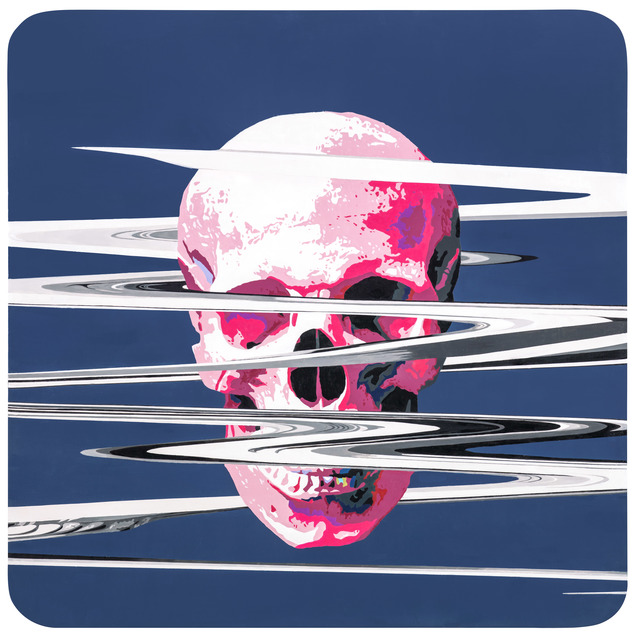 , 'A Pink Skull with Cracks,' 2016, Liang Gallery