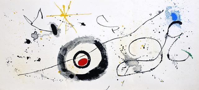 Joan Miró, 'Untitled', 1963, Print, Color Lithograph, Hans den Hollander Prints