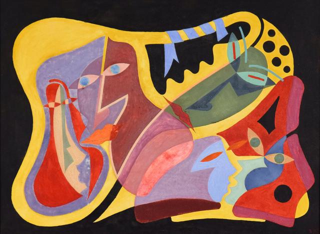, 'Composition Surréaliste,' 1950, Stern Pissarro
