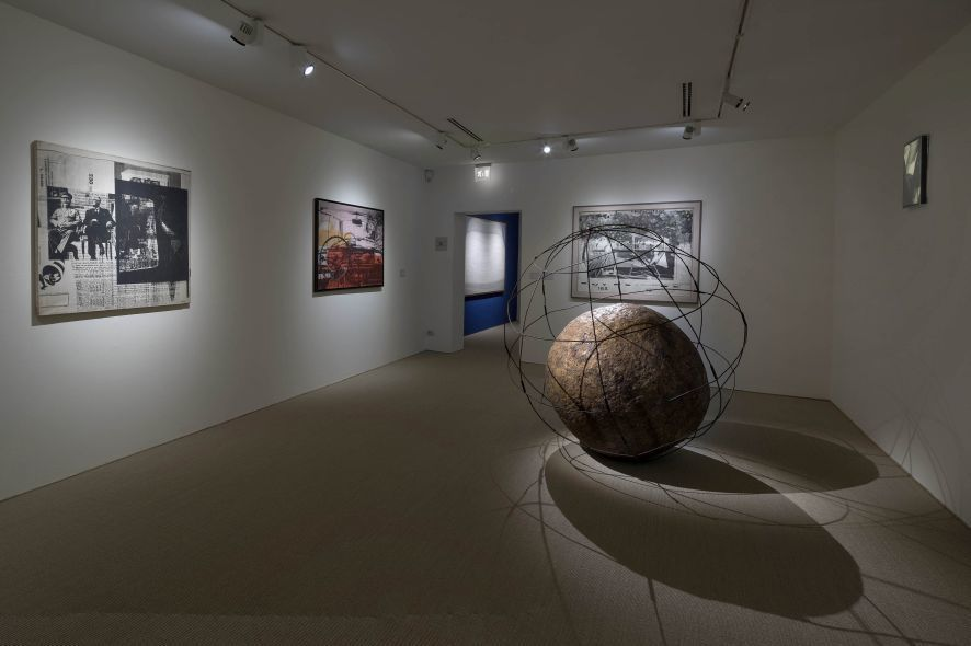 "Installation view of ""IMAGINE: New Imagery in Italian Art 1960-1969"" at Peggy Guggenheim Collection, Venice (2016). Ph. Matteo de Fina"