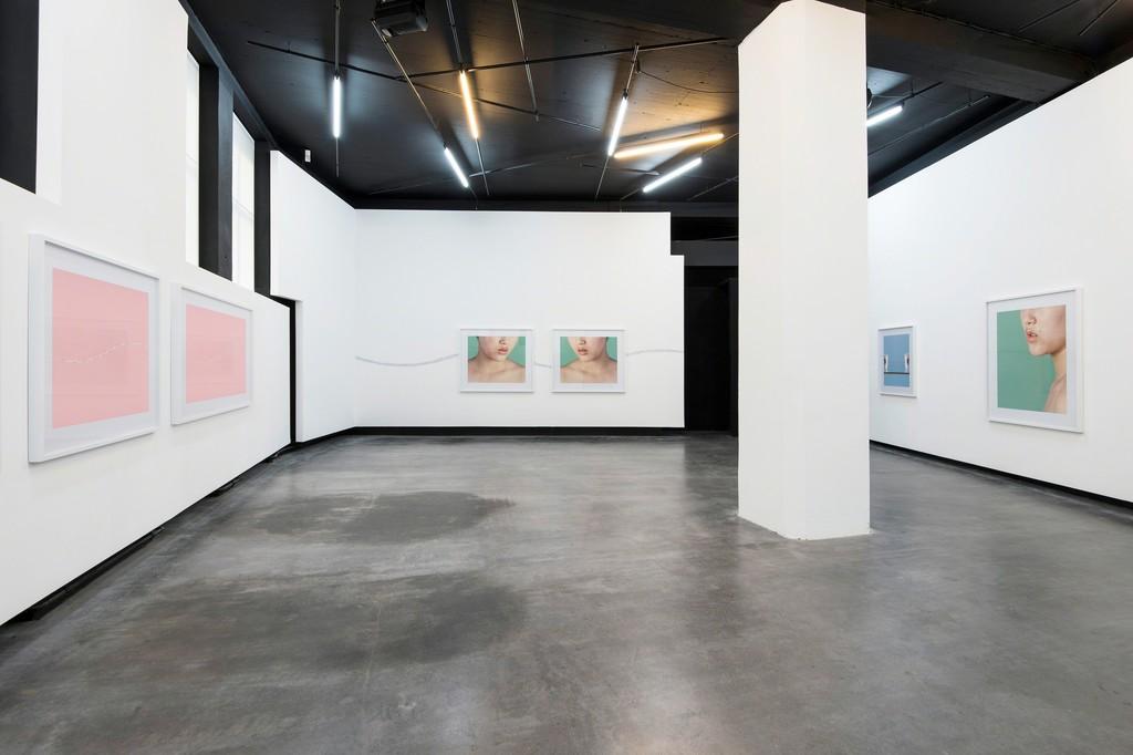 "Installation view ""Liquid"", Parrotta Contemporary Art Stuttgart, 2015"