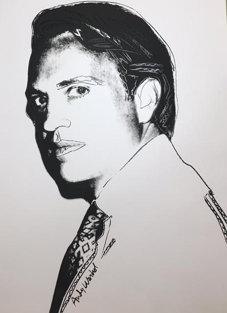 Andy Warhol, 'Carter Burden', 1977, Verosa