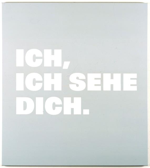 , 'Neue Bilder 48d Ich,/ich sehe/ Dich.,' 1998, Barbara Gross