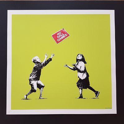 Banksy, 'No Ball Games Green', 2009, Castle Gallery