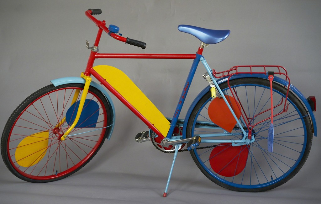 Ib Geertsen, Bicycle, 1984, Collectin Brandts - Museum of Art & Visual Culture, Odense, Photo: Bent Hesby