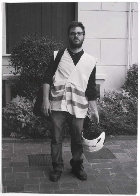 , 'Self-Portrait as a Postman,' 2015, Van Gogh Museum