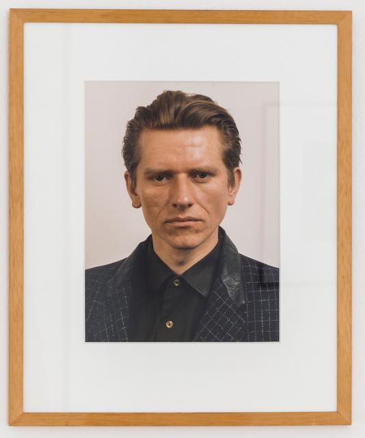 , 'Porträt (M. Syniuga),' 1986, Mai 36 Galerie
