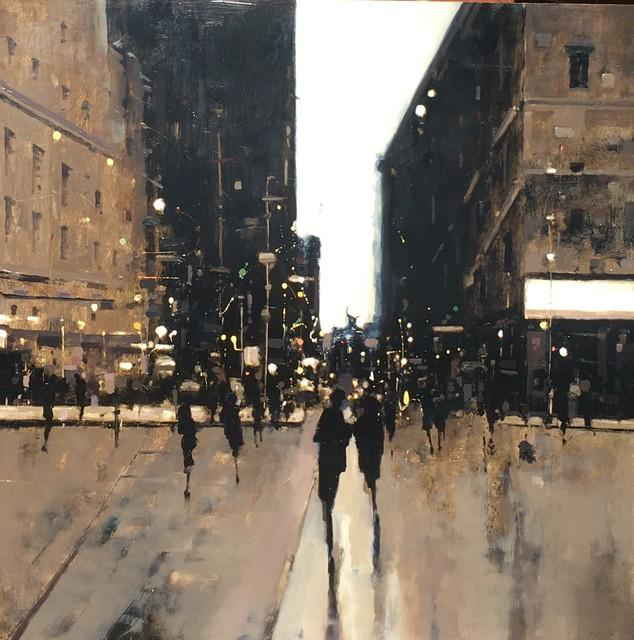 Geoffrey Johnson, 'City Night Crossing III', 2019, Shain Gallery
